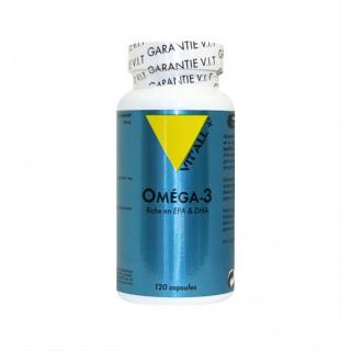 Vitall+ Oméga 3 1000mg - 120 capsules