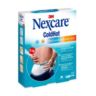 Nexcare ColdHot Coussin dos & abdomen - Taille S/M
