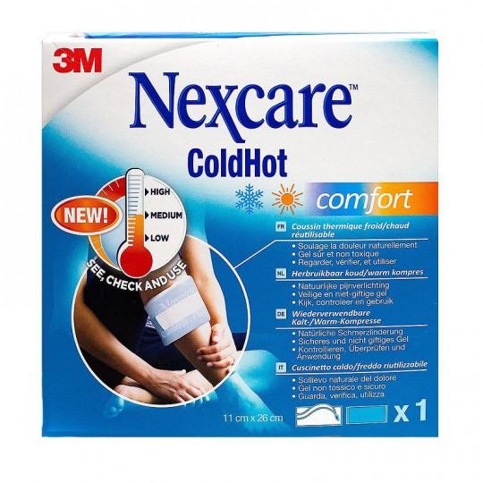Nexcare ColdHot Comfort - 1 bande de 11x26 cm + 1 housse