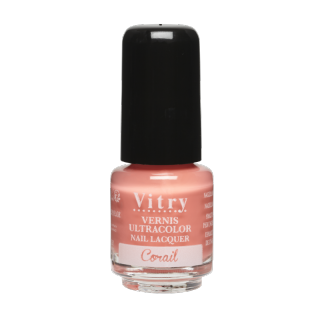 Vitry vernis à ongles corail 4 ml