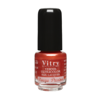 Vitry vernis à ongles rouge passion 4 ml