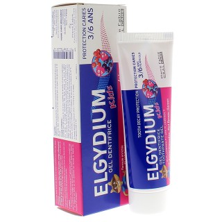 Elgydium Kids Dentifrice enfant à la grenadine - 50ml