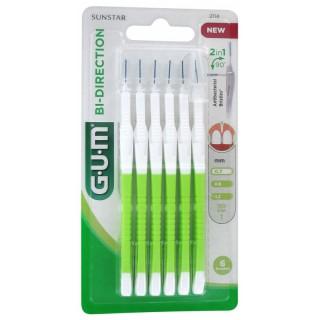 Gum Bi direction 6 brossettes interdentaires 0.7mm