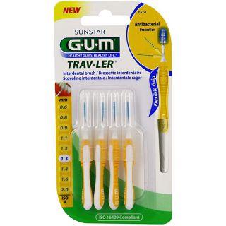 Gum Brossette Interdentaires Trav-ler1,3mmx4