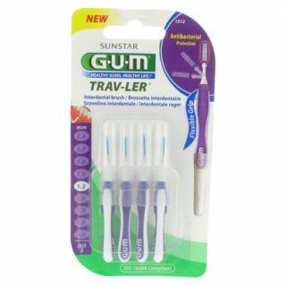 Gum Brossette Interdentaires Trav-ler1,2mmx4
