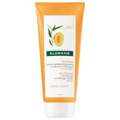 Klorane Baume après-shampoing au beurre de Mangue - 50ml