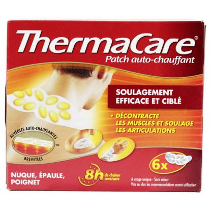 Thermacare Auto warming Patch X6 nape, Shoulders and Wrists