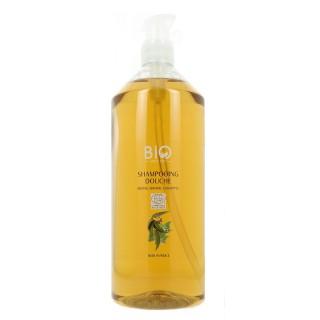 Gravier Shampoing douche menthe eucalyptus verveine Bio - 1L