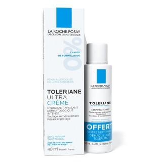 La Roche-Posay Toleriane ultra crème 40ml + dermo-nettoyant 50ml offert