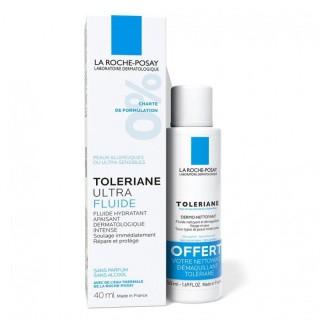 La Roche-Posay Toleriane Ultra-fluide 40ml + dermo-nettoyant 50ml offert