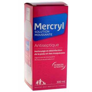 Mercryl Solution moussante antiseptique - 300ml
