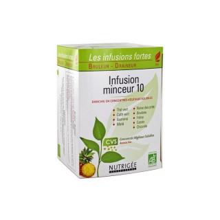 Nutrigée Infusion minceur 10 plantes - 30 sachets
