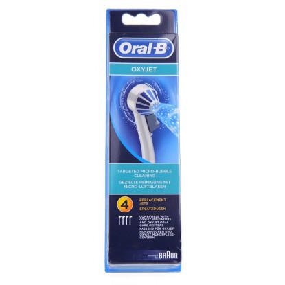 Oral B Oxyjet Canules pour jet dentaire x 4