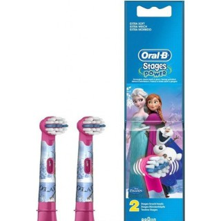 Oral B Stages Power Reine des neiges - 2 brossettes