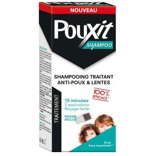 Pouxit Shampoo Shampoing traitant anti-poux et lentes - 200ml + Peigne inclus