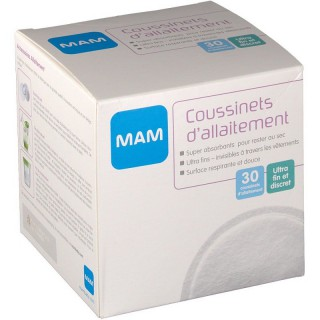 MAM Coussinets d'allaitement - 30 unités