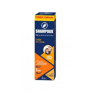 Gifrer Shampoux Lotion sans rinçage anti-poux et lentes - 100ml