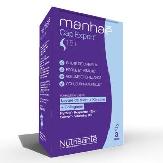 Nutrisanté Manhaé Cap Expert - 120 gélules