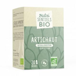 Nutrisanté Les Nutri'Sentiels Bio Artichaut - 20 gélules