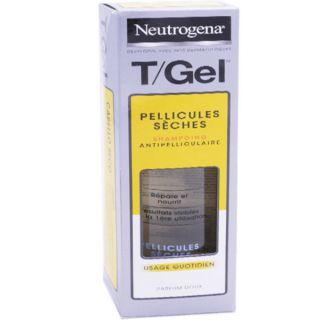 Neutrogena T/Gel shampooing pellicules sèches - 250ml