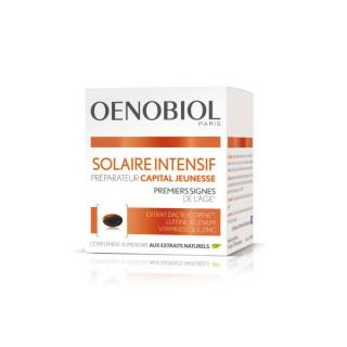 Oenobiol Solaire Intensif préparateur capital jeunesse - 30 capsules