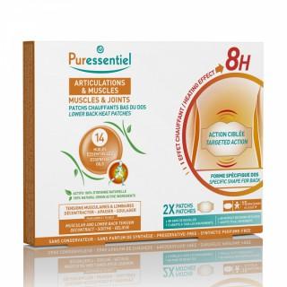 Puressentiel Articulations et Muscles Patchs chauffants aux 14 huiles essentielles - 2 unités
