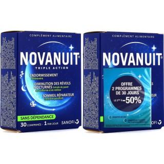 Sanofi Novanuit Triple Action - 2 x 30 comprimés