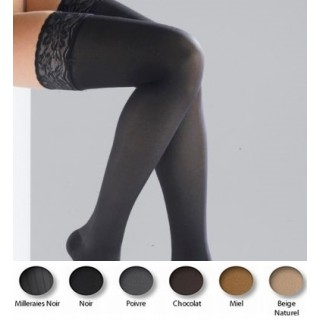 Thuasne bas-cuisse venoflex incognito absolu taille 1 normal noir