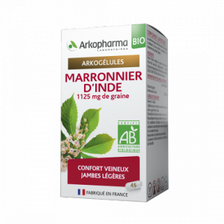 Arkopharma marronier d'inde bio 45 gélules
