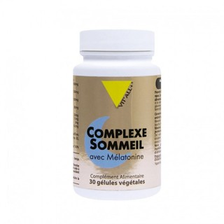 Vitall+ Complexe sommeil avec mélatonine - 30 gélules