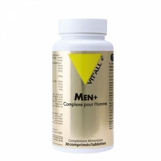 Vitall+ Men + complexe pour homme - 30 comprimés