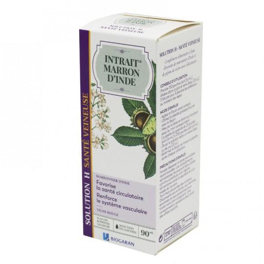 Biogaran Intrait de marron d'Inde Solution H Santé veineuse - 90ml