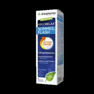 Arkorelax sommeil flash 1.9 mg mélatonine spray  20 ml