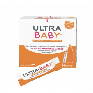 Biocodex Ultra Baby antidiarrhéique - 14 sticks