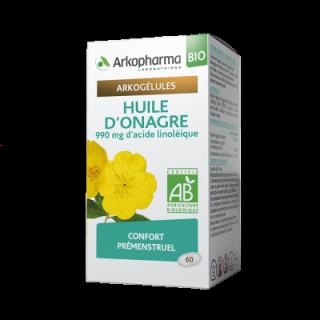 Arkogélules Huile d'Onagre Bio - 60 gélules