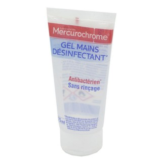 Urgo mercurochrome gel mains désinfectant 75 ml