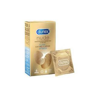 Durex nude sensation peau contre peau x 8 - XL
