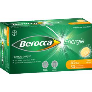 Bayer Berocca Énergie - 30 comprimés effervescents