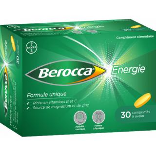 Bayer Berocca Énergie - 30 comprimés à avaler