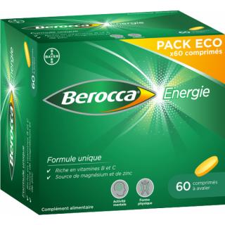 Bayer Berocca Énergie - 60 comprimés à avaler