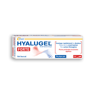 Hyalugel Forte Gel buccal - 8ml