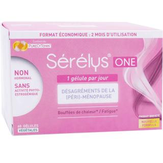 Sérélys One Désagrément de la ménopause - 60 gélules