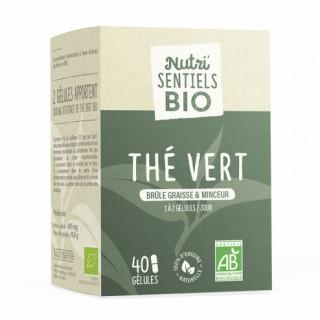 Nutrisanté Les Nutri'Sentiels Thé vert bio- 40 gélules
