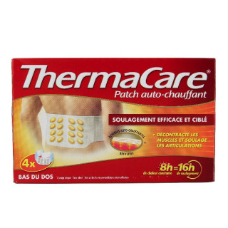 Thermacare Patch autochauffant ceinture dos - 4 patchs