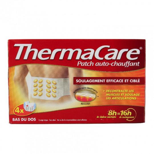 Thermacare Patch autochauffant ceinture dos - 4 patchs