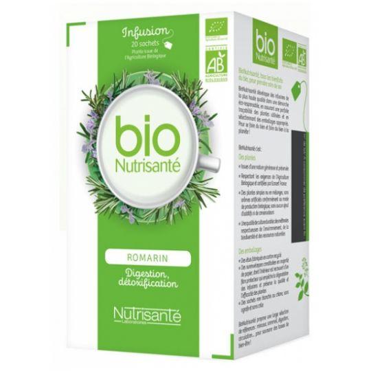 Organic Rosemary Herbal Tea Box 20