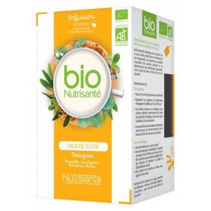 Tisane bio régulation des sucres bte 20 sachets