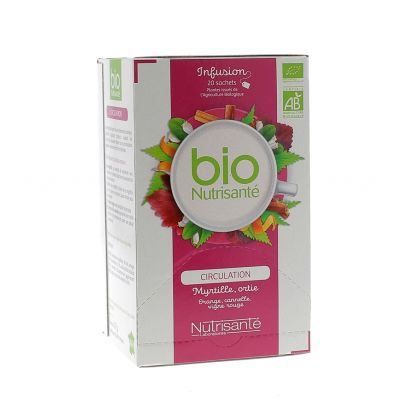 Organic Blood Flow Herbal Tea Box 20 bags