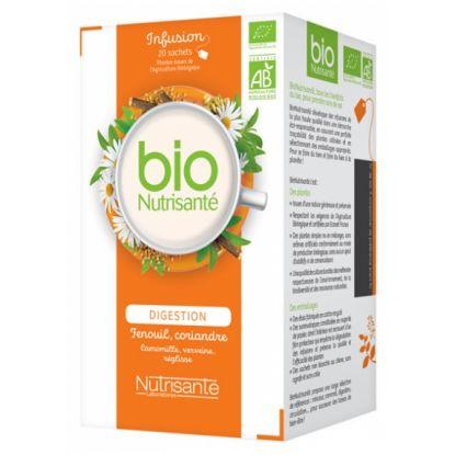 Digestion Organic Herbal Tea box 20 bags