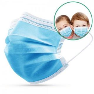 Masque pédiatrique chirurgical boîte de 50